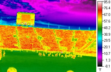 infrared football game